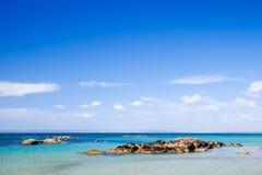 Idyllic Ocean Stock Photo