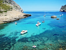 Idyllic ocean bay Royalty Free Stock Photo