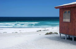Idyllic pacific beach Stock Photos