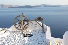 Idyllic panorama on Santorini Island, Greece Royalty Free Stock Photo