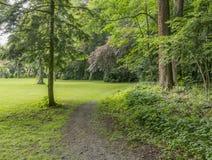 Idyllic park scenery Royalty Free Stock Photography
