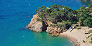 Idyllic Place at the costa brava,Spain Royalty Free Stock Photography