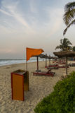 Idyllic place in Gambia Royalty Free Stock Photos