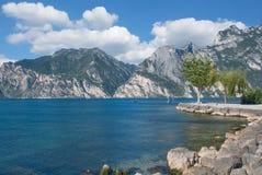 Nago-Torbole,Lake Garda,italian Lake district,Italy royalty free stock image