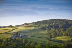 Idyllic rural farm, Cotswolds UK Stock Images