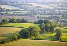 Idyllic rural farmland, Cotswolds UK Royalty Free Stock Image