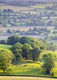Idyllic rural farmland, Cotswolds UK Royalty Free Stock Photo
