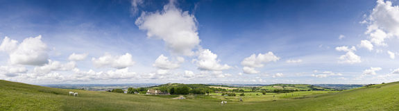 Idyllic rural farmland, Cotswolds UK Royalty Free Stock Photography