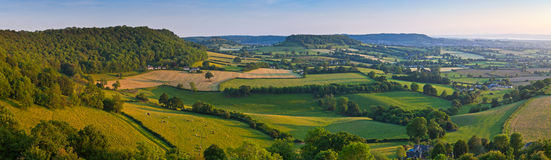 Idyllic rural farmland, Cotswolds UK Stock Images