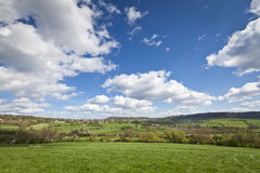 Idyllic rural farmland, Cotswolds UK Royalty Free Stock Photography