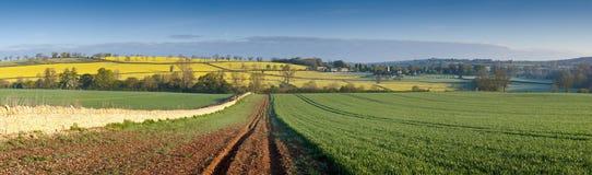 Idyllic rural landscape, Cotswolds UK Royalty Free Stock Photography