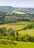 Idyllic rural landscape, Cotswolds UK Royalty Free Stock Image