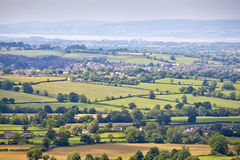 Idyllic rural landscape, Cotswolds UK Stock Photo