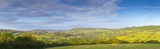 Idyllic rural landscape, Cotswolds UK Stock Image