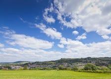 Idyllic rural landscape, Cotswolds UK Royalty Free Stock Image