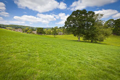 Idyllic rural landscape, Cotswolds UK Royalty Free Stock Photography