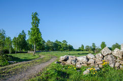 Idyllic rural landscape Royalty Free Stock Photos