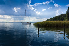 Idyllic sailing Stock Photography