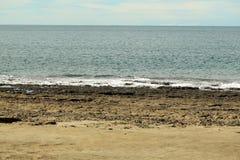 Idyllic sandy beach Royalty Free Stock Images