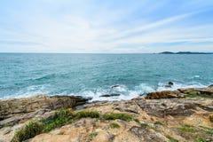 Idyllic Scene Beach at Samed Island,Thailand Royalty Free Stock Photography