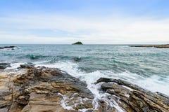 Idyllic Scene Beach at Samed Island,Thailand Royalty Free Stock Images