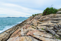 Idyllic Scene Beach at Samed Island,Thailand Royalty Free Stock Images
