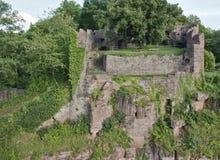 Idyllic scenery around Wertheim Castle Royalty Free Stock Images