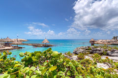 Idyllic scenery of Caribbean sea Royalty Free Stock Photography