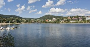 Idyllic Schluchsee In The Black Forest Royalty Free Stock Images