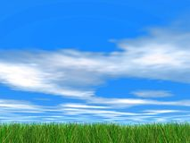 Idyllic sky royalty free stock photography
