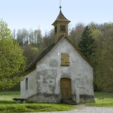 Idyllic small chapel Royalty Free Stock Image