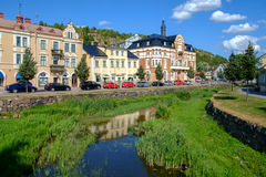Idyllic Soderkoping Royalty Free Stock Images