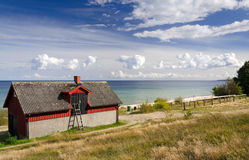 Idyllic southern Sweden Stock Images