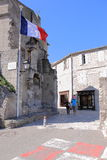 Idyllic street in Les Baux-de-Provence, France Royalty Free Stock Photo