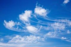 Idyllic summer cloudscape Royalty Free Stock Photos