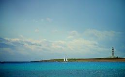 Idyllic Summer Seascape Stock Photo