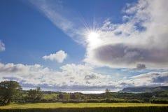 Idyllic Sunny Day in Ireland royalty free stock photography