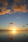 Idyllic sunset Stock Photo