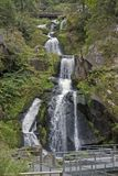 Idyllic Triberg Waterfalls Stock Image