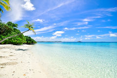 Idyllic tropical beach Stock Image