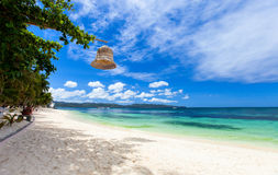 Idyllic tropical beach Royalty Free Stock Photos