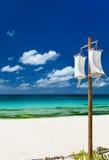 Idyllic tropical beach Royalty Free Stock Photos