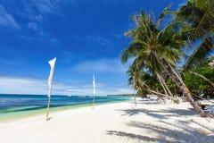 Idyllic tropical beach Royalty Free Stock Photo