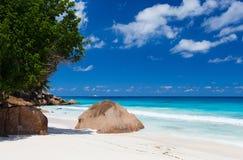 Idyllic tropical beach Stock Photo
