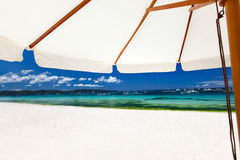 Idyllic tropical beach Stock Photography