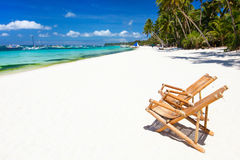 Idyllic tropical beach Royalty Free Stock Photo