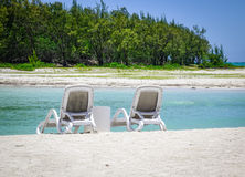 Idyllic tropical sea and turquoise water Royalty Free Stock Photo