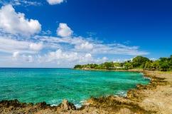 Idyllic Turquoise Bay Royalty Free Stock Photos