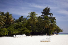 Idyllic vacation in the Maldives Royalty Free Stock Images
