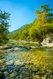 Idyllic valley Stock Photo